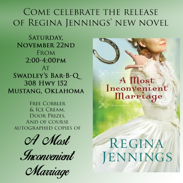 """A Most Inconvenient Marriage"" Launch Party"