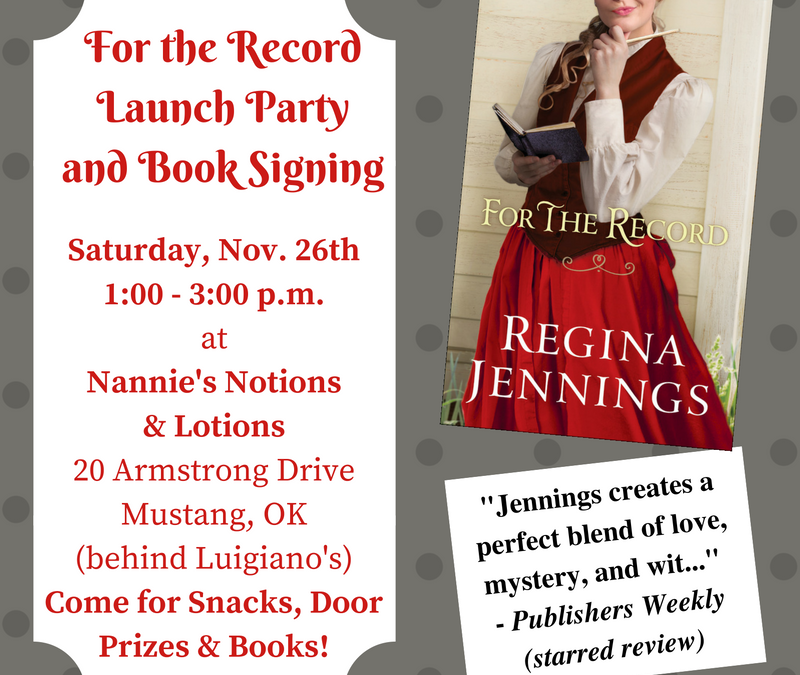 """For the Record"" Launch Party and Book Signing"