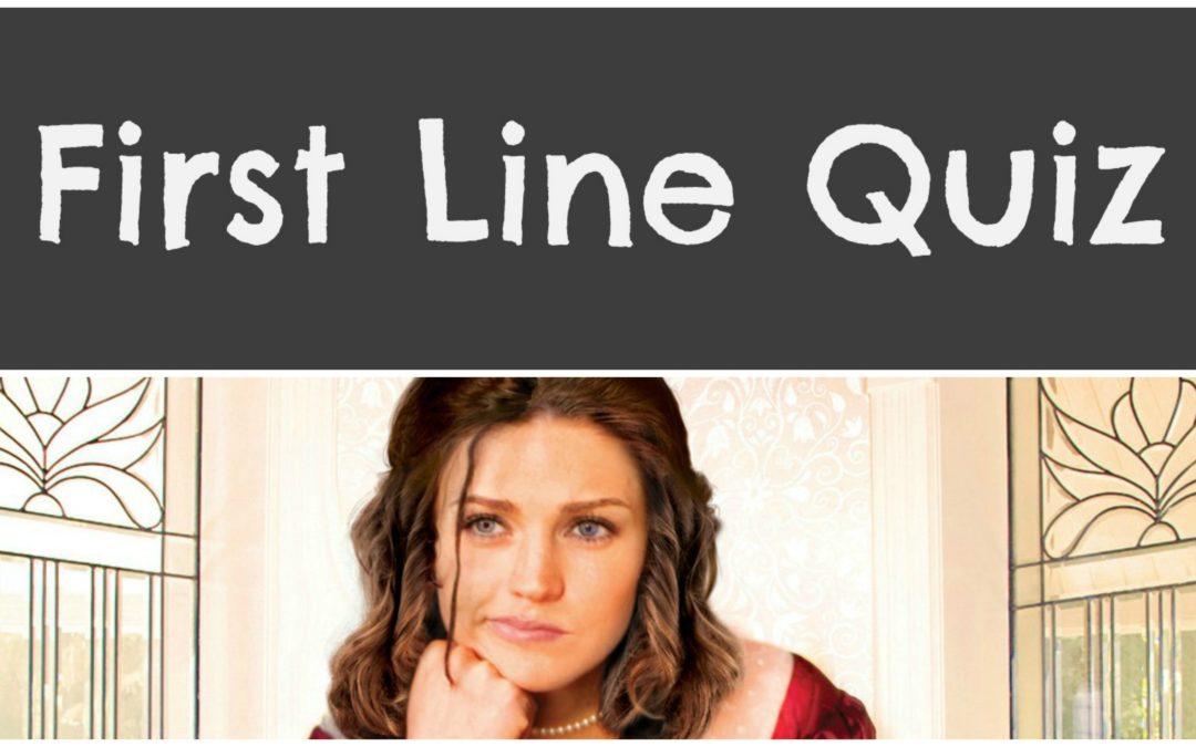 First Line Quiz